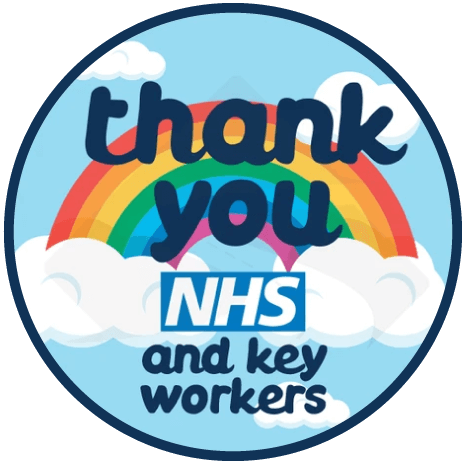 Thank you NHS and key workers.